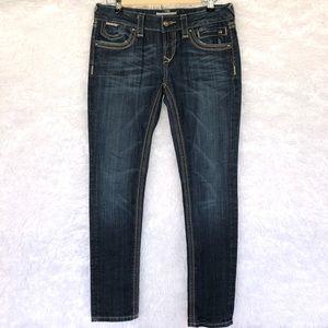 Rerock for Express skinny dark wash jeans size 4s